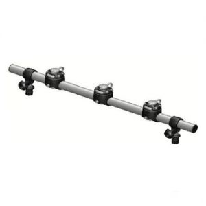 Round rail with 3 mounts FASten (700 mm)