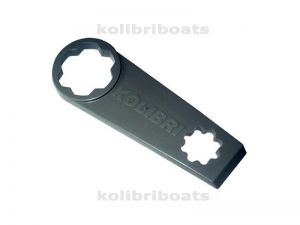Key for a valve Kolibri
